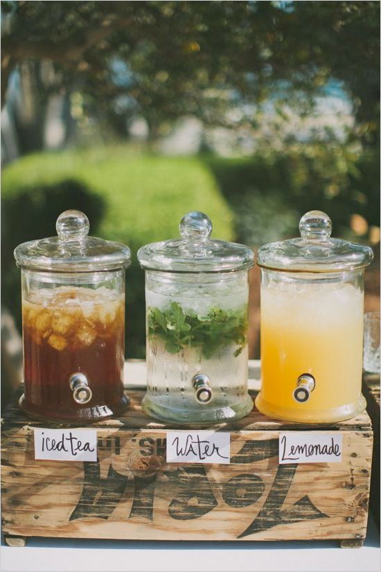Easy drink station for big day