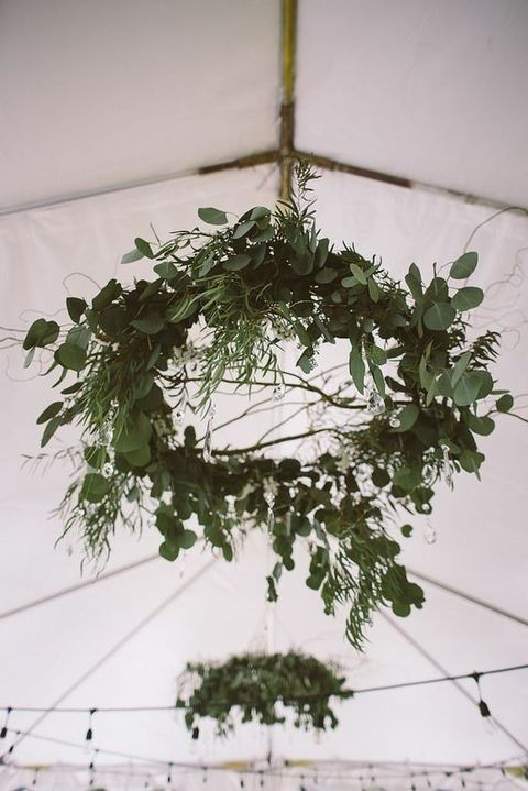 Fresh Greenery Spring Wedding Wreaths