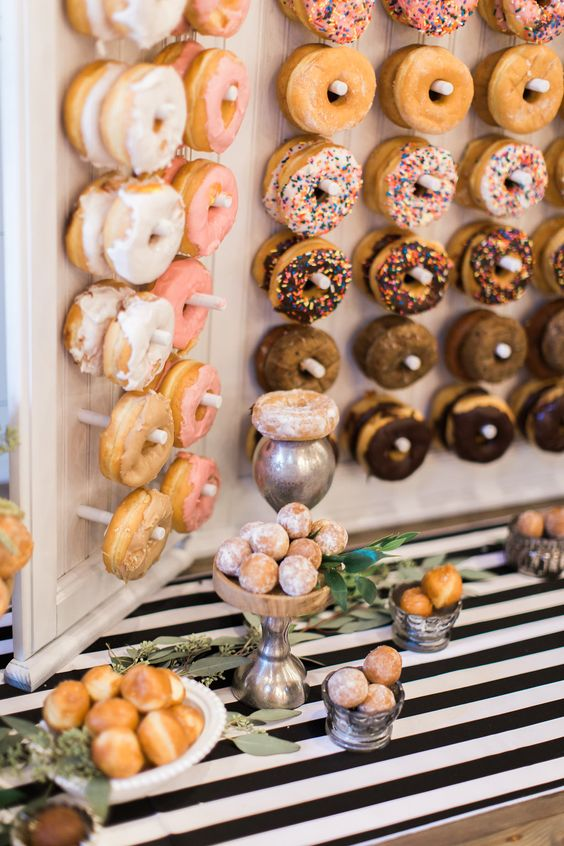 Get Inspired by This Donut Bar - photo by Olivia Morgan