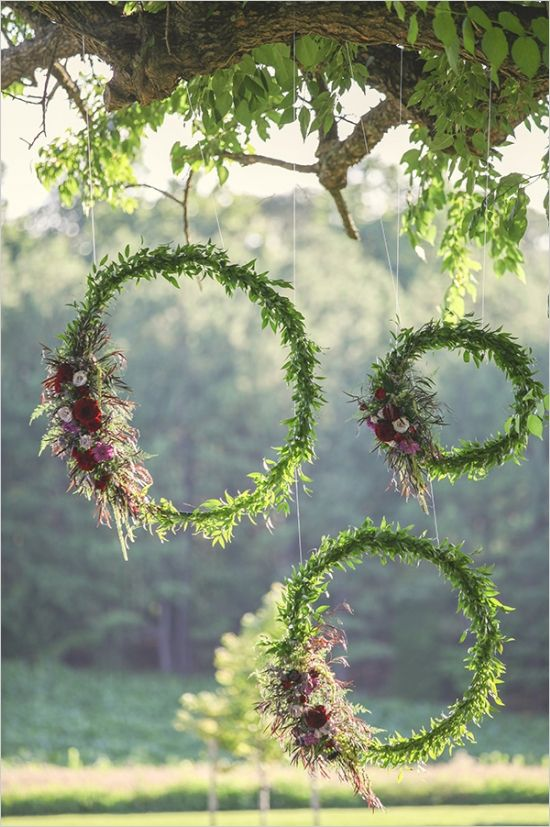 Ideas about HOW TO plan a Greenery wedding