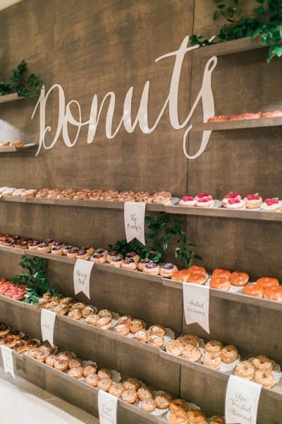 Mini Bars For The Ultimate Foodie Wedding