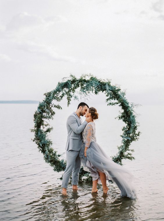 Moody Baltic Sea Wedding Inspiration
