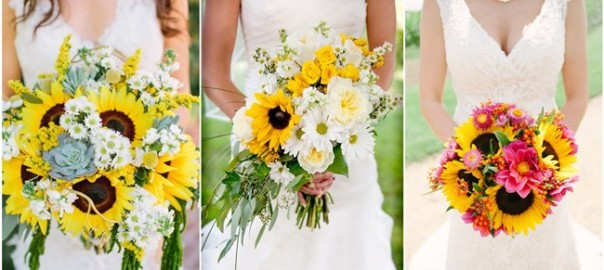Perfect Sunflower Wedding Bouquet Ideas to Love