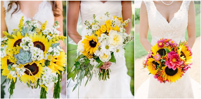21 perfect sunflower wedding bouquet ideas for summer wedding 21 perfect sunflower wedding bouquet ideas to love junglespirit Image collections