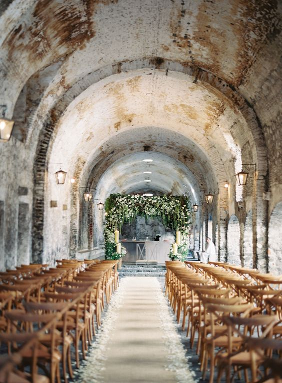 Romantic and Rustic Wedding in Mexico via oncewed