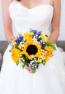 Royal Blue & Sunflower Yellow for Summer Wedding