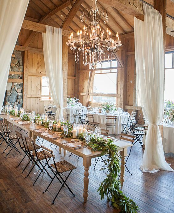 Small Wedding Reception Ideas: 19 Must See Rustic Wedding Venue Ideas