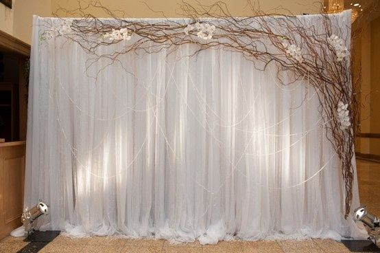These Indoor Ceremony Backdrops Will Make You Pray For: 30 Unique And Breathtaking Wedding Backdrop Ideas