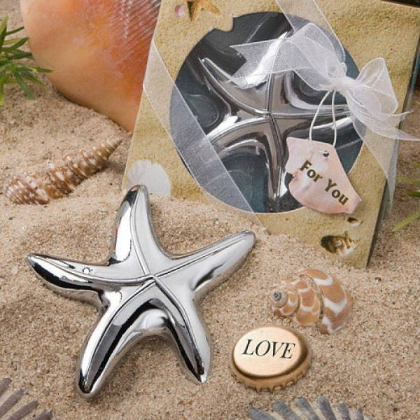 Starfish Bottle Opener For Wedding Favors