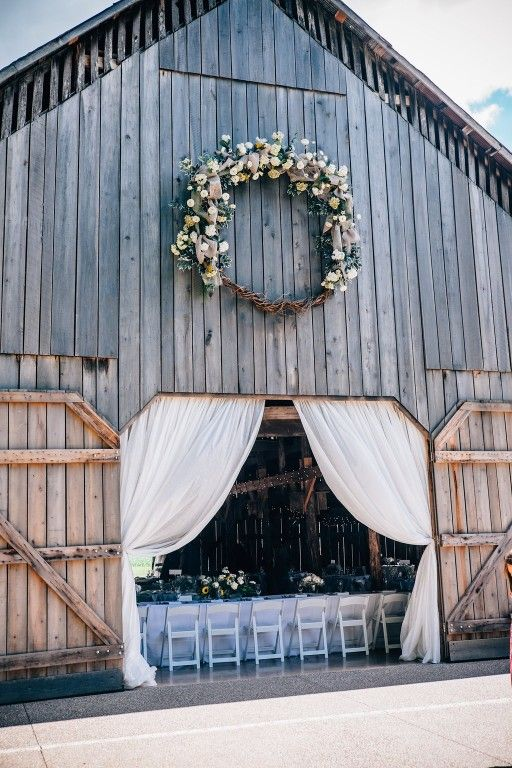 The Barn at Cedar Grove is a rustic Kentucky barn venue