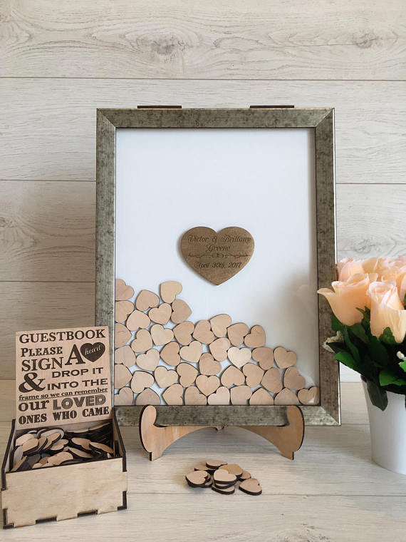 Wedding Guest Book Alternative Drop Box