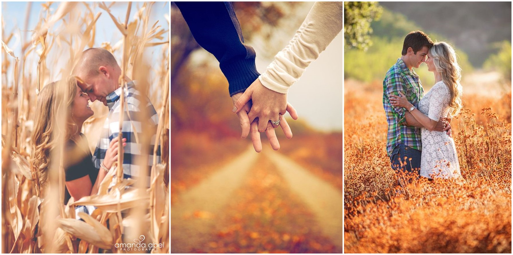 23 Creative Fall Engagement Photo Shoots Ideas