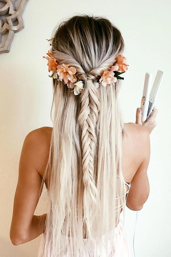 Bohemian hairstyles are worth mastering because they are creative, pretty and so wild