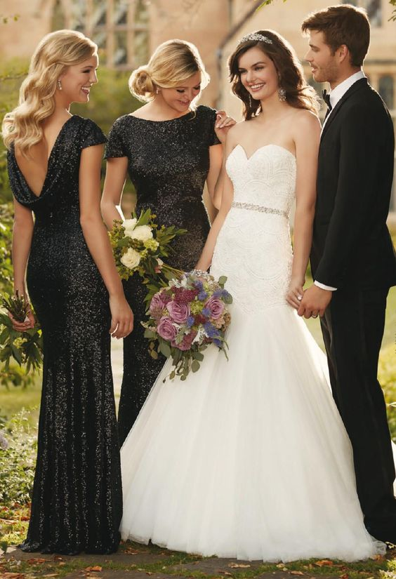 Don T Miss These 22 Black Bridesmaid Dresses For Your Fall