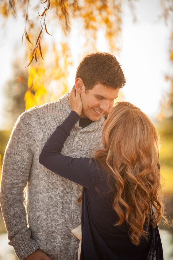 Fall Engagement by Ben & Les Photography