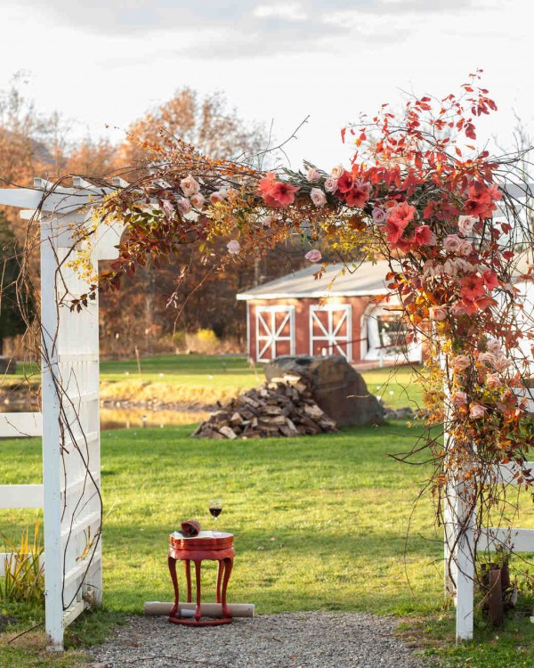 Fall Wedding Chuppah