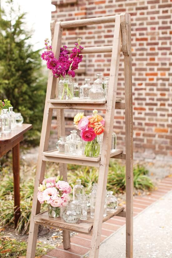 Images of old ladders for wedding
