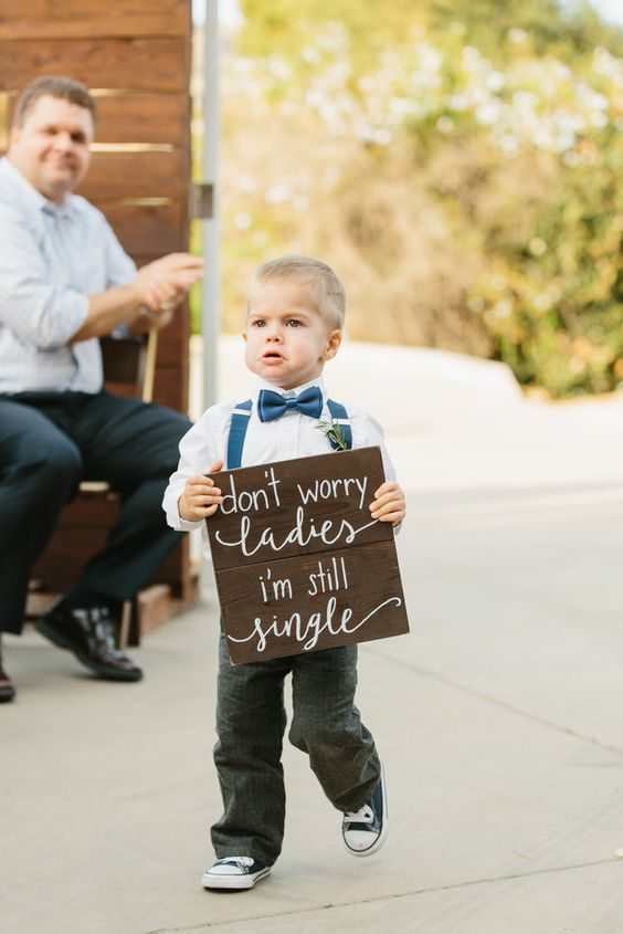 Funny Wedding Signs