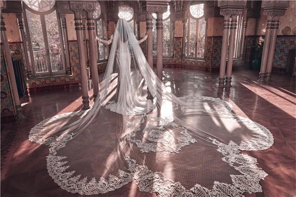 Galia Lahav Wedding Dresses 2018 Victorian Affinity Collection - Esther-veil