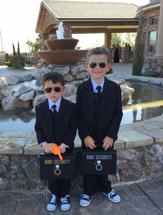 Here's a way to cast the Ring Bearers as Ring Security