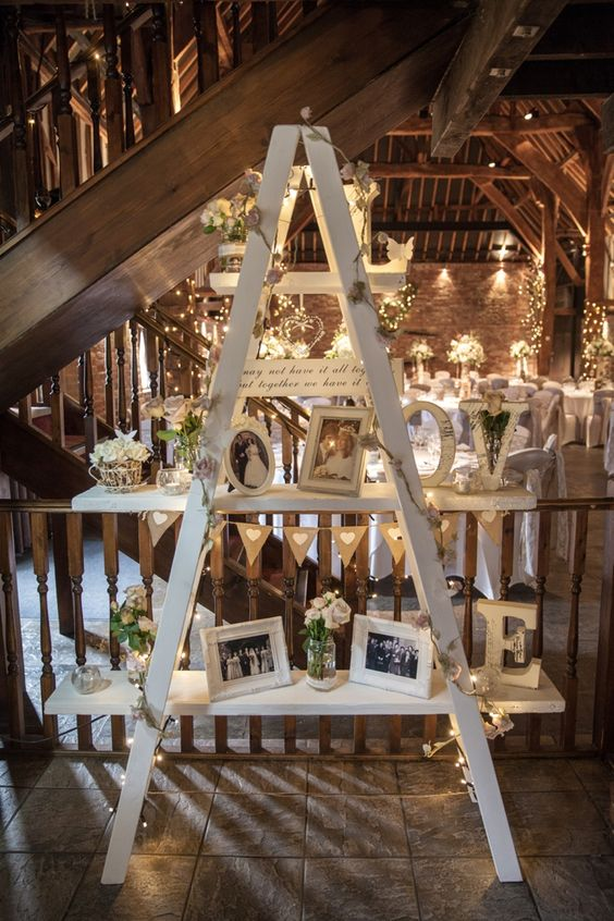 barn wedding ideas decorating 22 rustic country wedding decoration ideas with ladders 1505