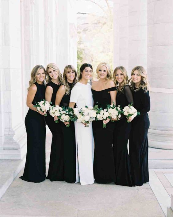 Modern, Black-Tie Wedding in Washington