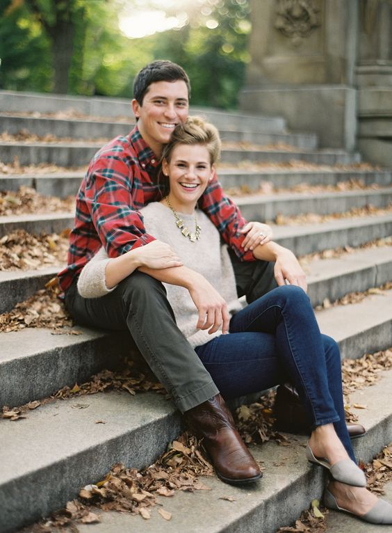 Romantic Engagement photo by Heather Hawkins