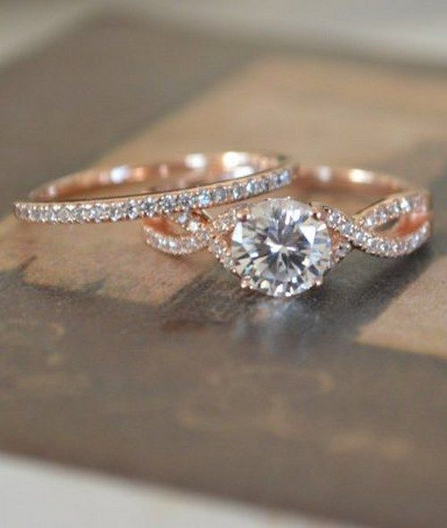 Rose Gold Engagement Ring Setting