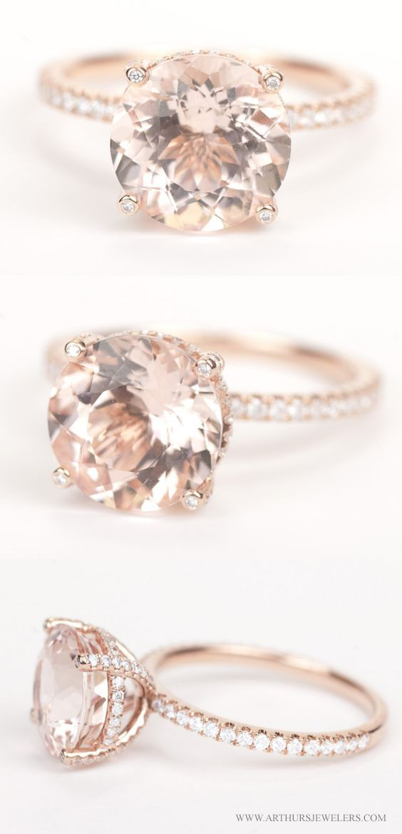 Rose Gold Engagement Ring by ArthursJewelers