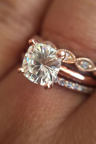 29 Most Popular Rose Gold EngagementWedding Rings Worth Having Page 2
