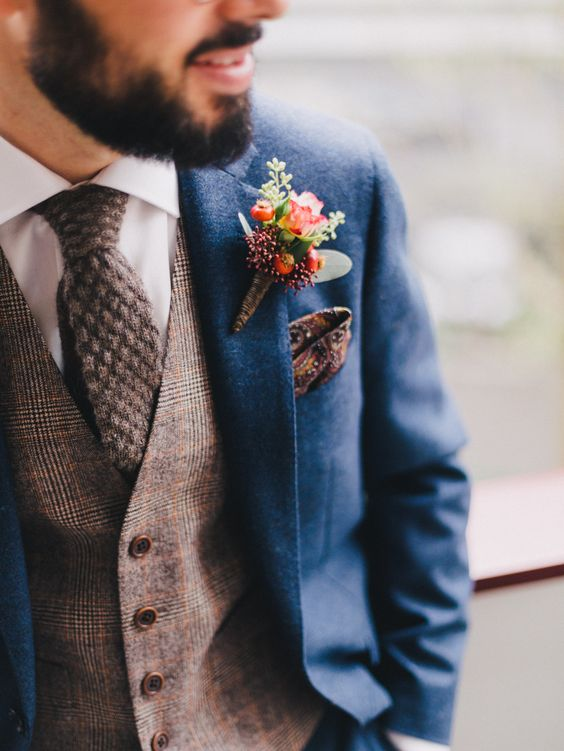 Rustic Grooms Style