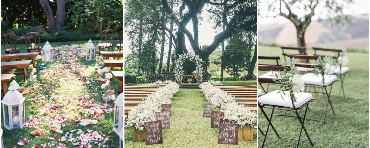 Bn Wedding Décor Outdoor Wedding Ceremonies: 25 Rustic Outdoor Wedding Ceremony Decorations Ideas