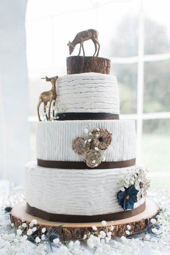 Laugh Love Cakes >> 22 Rustic Tree Stumps Wedding Cakes for Your Country Wedding - Page 2