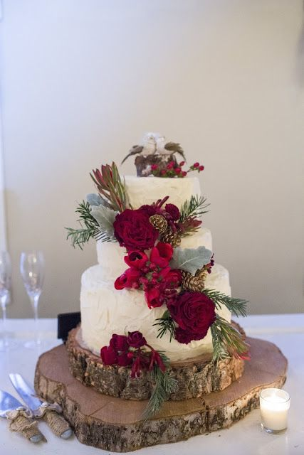 Rustic Wedding Cakes for Barn wedding