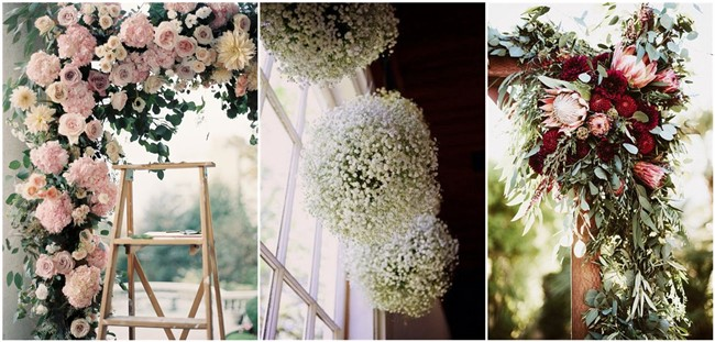 Top 10 Flowers Themed Wedding Ideas For Outdoor Ceremony