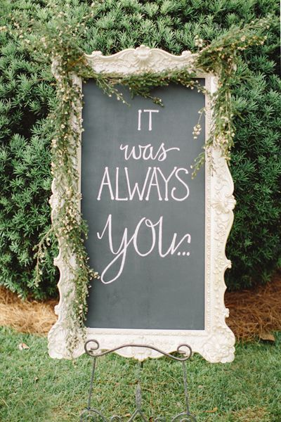 Vintage Themed Wedding Sign Ideas You may like