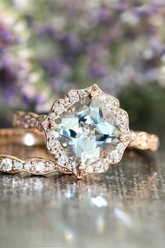 vintage ring with sophisticated enchanting details - Vintage Wedding Rings