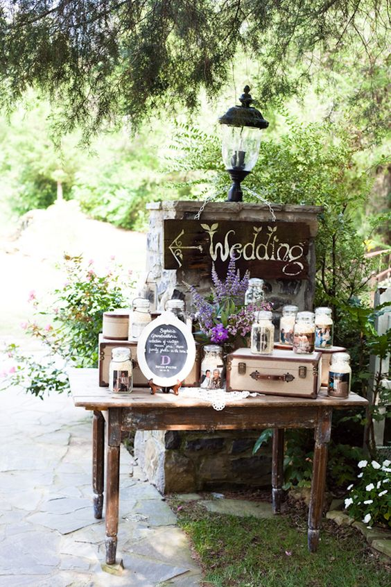 Vintage rustic wedding the collection