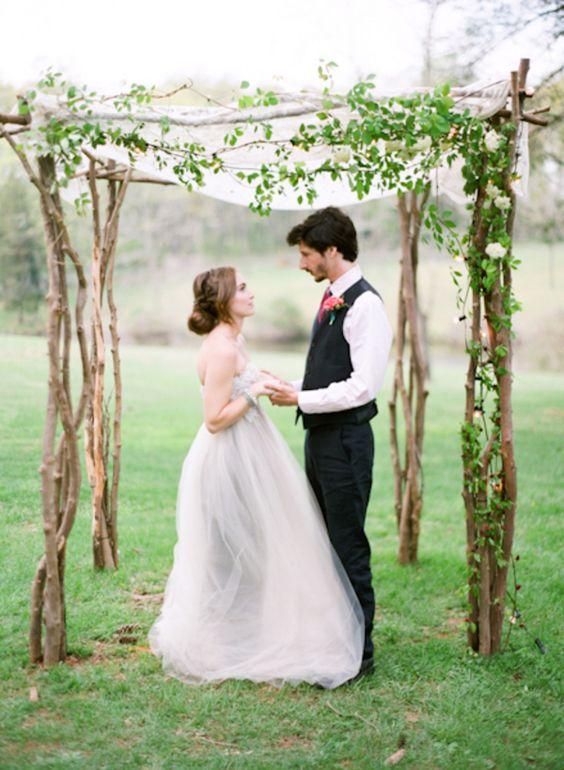 wedding chuppah marta locklear photography