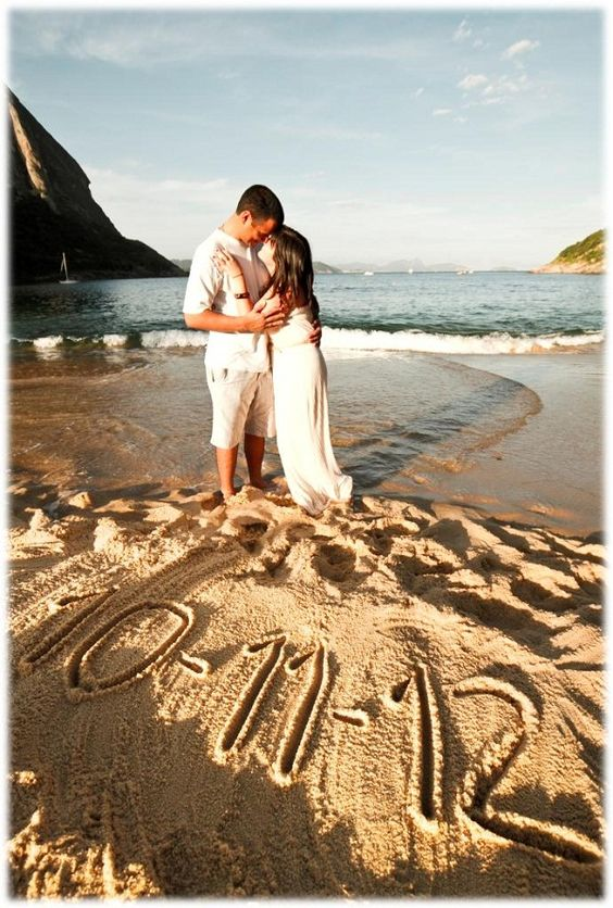 Beach Themed Save The Date Ideas