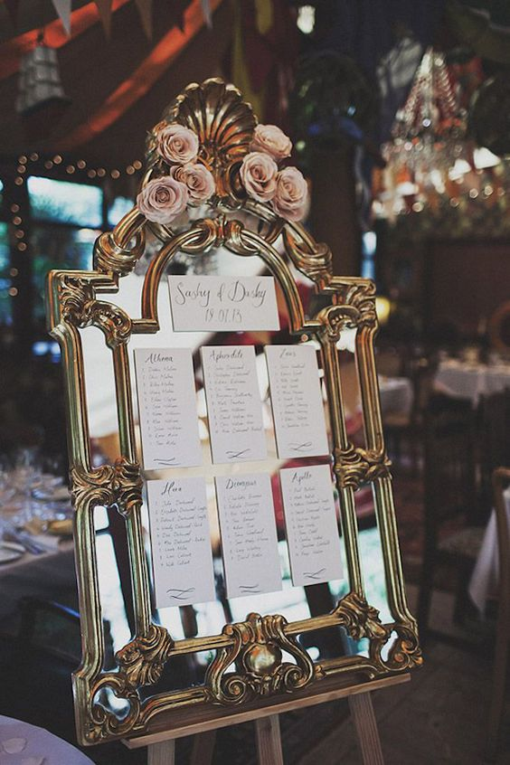 Beautiful Mirror Wedding Ideas