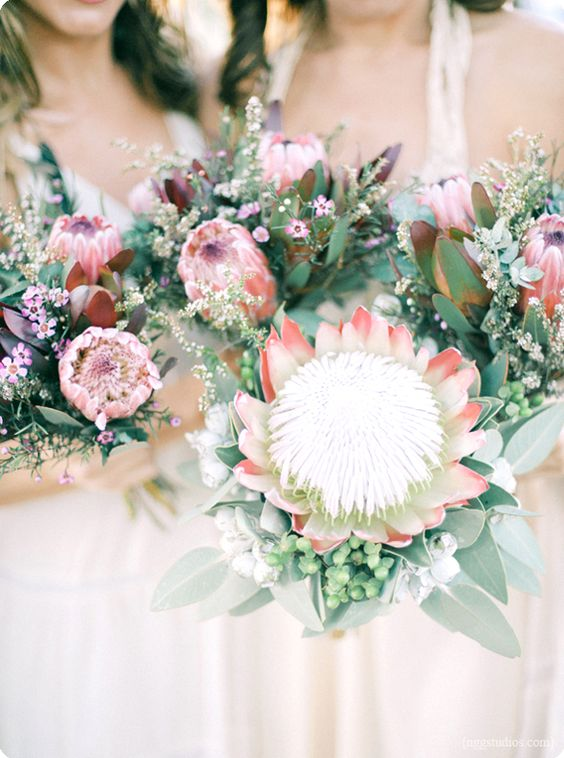 Bohemian Beach Wedding Bouquet by NGG Studios