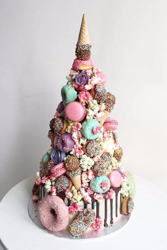 Cake Combines Our Favorite Unicorn Desserts