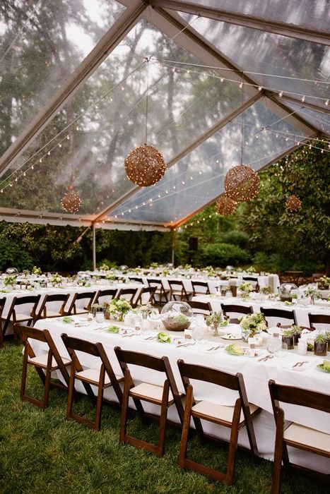 Chic and Elegant Wedding Tent Styles