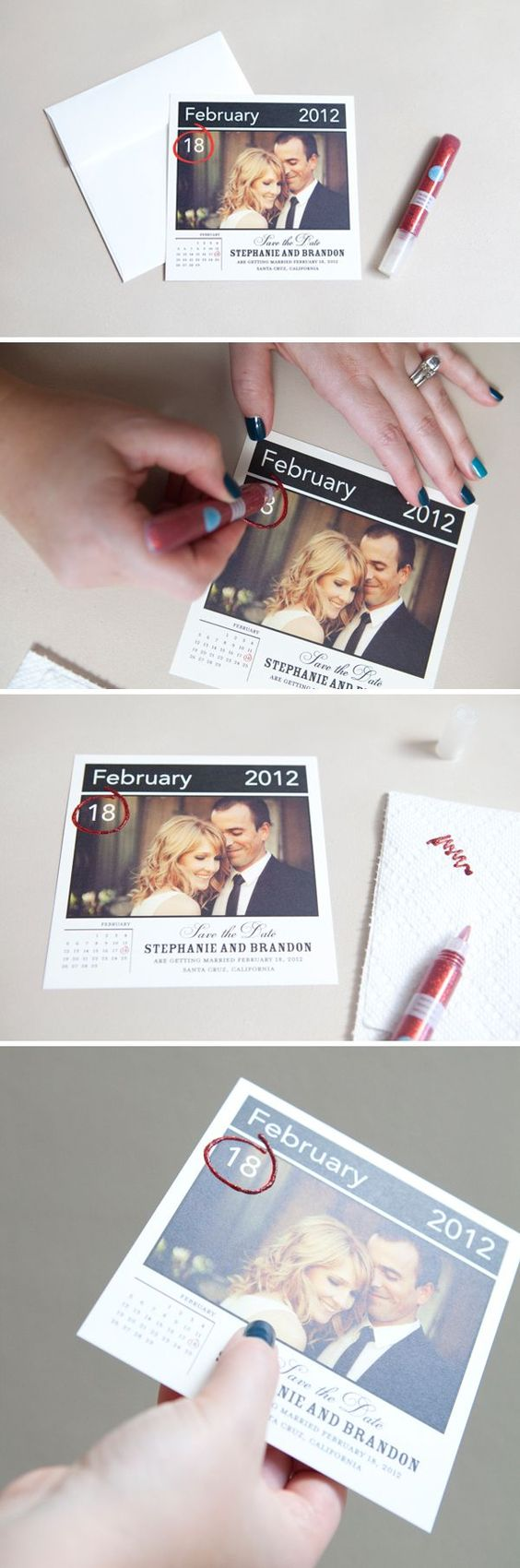 Cute and creative Save the Dates