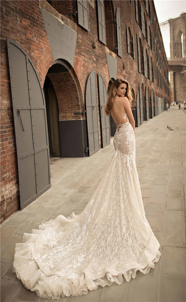 Latest Berta Wedding Dresses 2018 Spring Collection