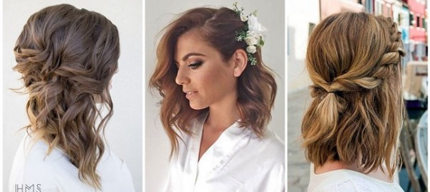 Lovely Medium-length Hairstyles For Fall Weddings