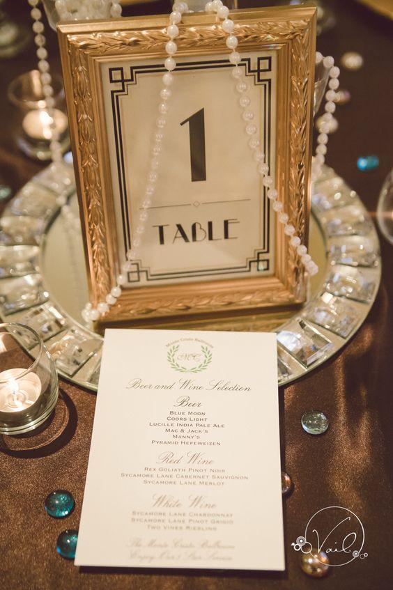 Monte Cristo Ballroom Great Gatsby wedding