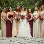 Rose Gold Burgundy Italian Wedding Villa Silvana