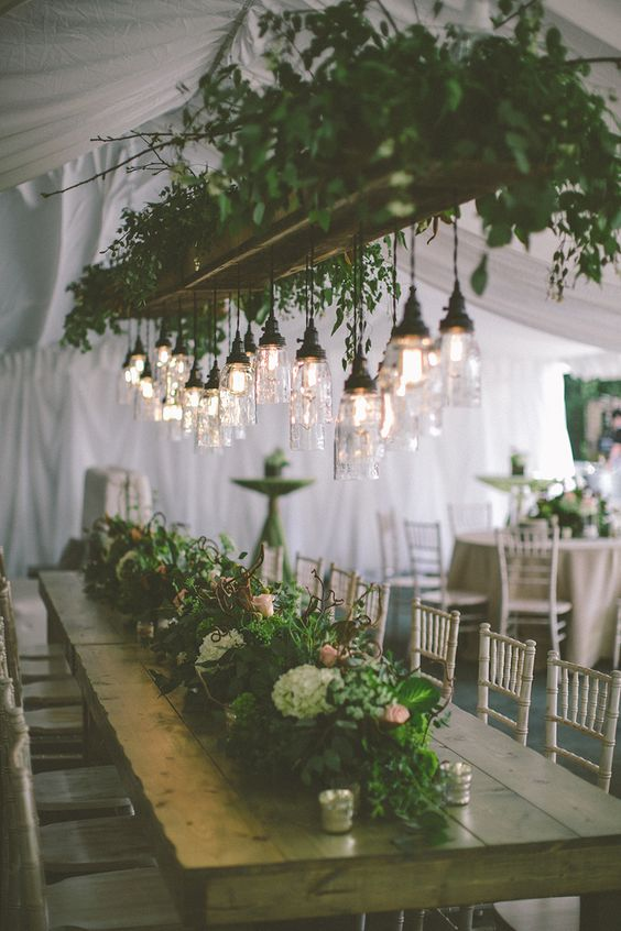 ... tent venue Rustic Wisconsin Backyard Wedding With Greenery ... & 22 Outdoor Wedding Tent Decoration Ideas Every Bride Will Love!